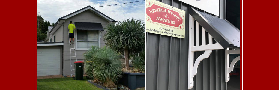 Heritage Window Awnings - Hunter Valley Best Window Awnings